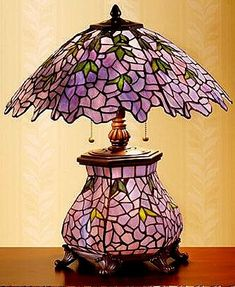 Stained Glass lamp...Gorgeous