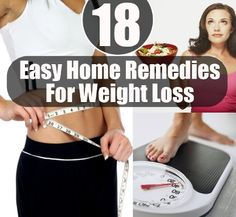 Natural Remedies To Lose Weight | Health  Natural Living