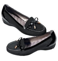 Everyday comfort-black loafer.  www.youravon.com/maureenfox