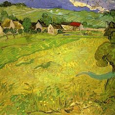 Vincent van Gogh — View of Vessenots near Auvers
