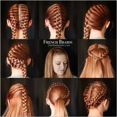 French braid stylea