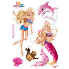 barbie wallpaper - Google keresés Paper Crafts For Kids, Hobbies And Crafts, Projects For Kids, Barbie Birthday Party, Barbie Party, Bolo Barbie, Vip Kid, Barbie Paper Dolls, Printable Stickers