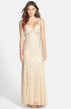 Sue Wong Dress - Beaded V Neck   Roaring 20\'s- Gatsby Style ...