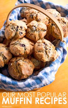 These muffin recipes are delicious wake-up calls and easy ways to express your baking talents.