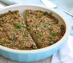 A healthy, family friendly tuna and quinoa pie with dukkah. Gluten & dairy free.