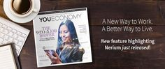 Nerium International Featured in YouEconomy - HUGE!! I will mentor you in your journey to being a business owner and part of the shifting economic structure.  stephlwest.nerium.com