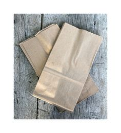 100 Small Brown Bag Kraft Paper bags Lunch Bags by PBCSupplies, $10.00