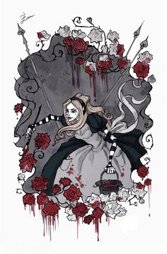 Painting The Roses Red by IrenHorrors on deviantART (she has quickly become one of my fave artists)