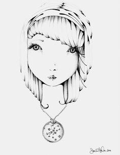 white & black & black & white by Yael Keila Sagi on Etsy