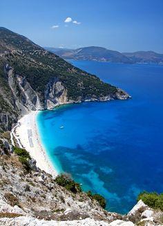 Myrtos beach - Kefalonia, #Greece