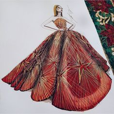 The Christmas Yuleball Gown - starfalls Dress Design Sketches, Fashion Design Drawings, Fashion Sketches, Dress Illustration, Fashion Illustration Dresses, Fashion Illustrations, Arte Fashion, Couture Fashion, Arte Sketchbook