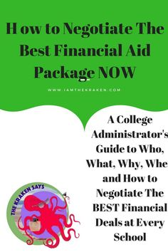 Negotiate, Financial Aid, Paying, College, Tips, Student Loans, University, Grants, Scholarships