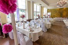 Hochzeitsdekoration in der Orangerie Bad Homburg