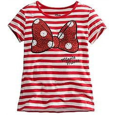 Bow Minnie Mouse Tee for Girls make one myself.