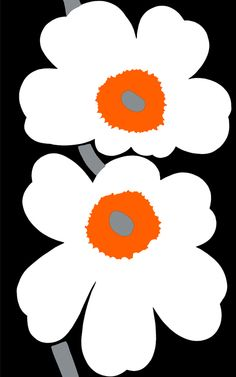 Marimekko stof Unikko 50 anniversary www.emma-b.nl Emma b Oudegracht 218 / Hoek Hamburgerstraat Utrecht Netherlands.