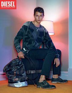 3e0f158b37c2 Diesel Spring Summer 2013 #Jeans #Advertising #DieselJeans Camo Fashion,  Fashion Tape,
