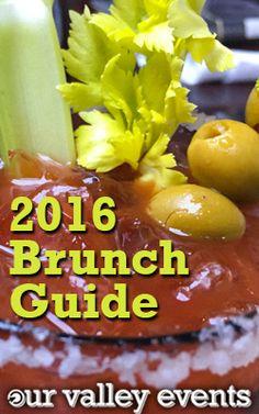 Our Valley Events 2016 Brunch Guide! Find your new favorite brunch spot Huntsville, AL.