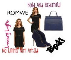 """ROMWE contest"" by funtamento ❤ liked on Polyvore featuring DENY Designs, Gianvito Rossi and Tory Burch"