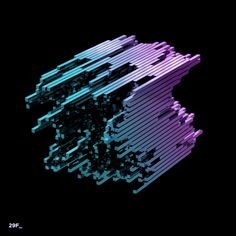 waves, shape, form, AR, figures, VJ, animation, 3d, motion graphic, motion design Cool Optical Illusions, Art Optical, Gifs, Motion Design, Animation, Design Thinking, Motion Logo, Illusion Gif, Design Ios