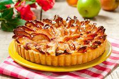 Apple & honey pie