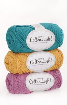 DROPS Cotton Light - A cool cotton yarn for summer! 24d75a55ae