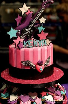 Rock Star Cake Tower