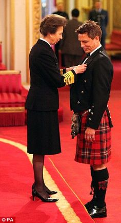 Princess Anne bestows MBE for John Barrowman with Queen at Buckingham Palace   Daily Mail Online