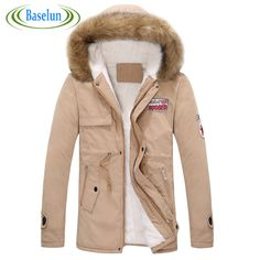 >> Click to Buy << 2016 new autumn and winter men and women couple thick warm fur collar big yards long section padded cotton jacket #Affiliate