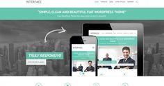15+ Free & Responsive Flat Design WordPress Themes For Portfolio and Corporate Websites 2015
