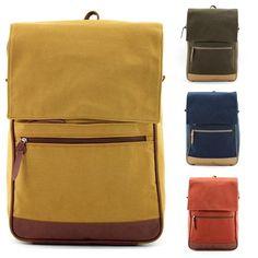 Brand New Campus Mens Bag School Backpack Vintage Bookbag Casual Backpacks Bags | eBay