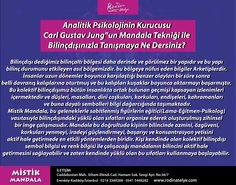 """Analitik Psikolojinin Kurucusu Carl Gustav Jung""""un Mistik Mandala Tekniği ile Bilinçaltınıza Yolculuk Yapmaya Ne Dersiniz?"""