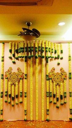 Wedding Hall Decorations, Desi Wedding Decor, Marriage Decoration, Wedding Mandap, Engagement Decorations, Flower Decorations, Balloon Decorations, Housewarming Decorations, Indian Wedding Favors