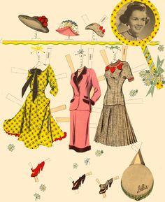 Starlets 1951 Whitman #2060 - Bobe Green - Picasa Albums Web