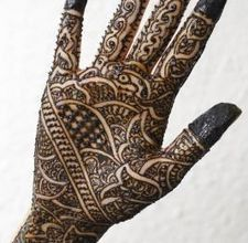 Mehndi henna tattoos