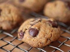 Gluten-Free Tuesday: Vegan Chocolate Chip Cookies (I heard these are the very best, indistinguishable from regular)