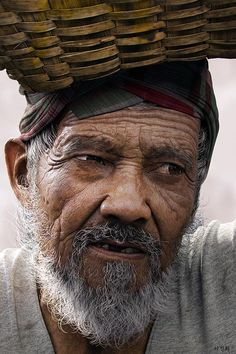 "A realistic 3D character called ""Old man'' created by Jin Hee Lee"