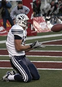 Beck to Harline. One of the greatest moments in BYU Football.