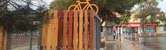 Our new bike cage in Kippax ACT Australia. Features recycled hardwood www.bikestorage.com.au