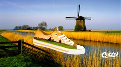 Casual high quality canvas shoes with famous destinations from around the world. Windmills, Netherlands, Around The Worlds, Explore, Sunset, Nature, The Nederlands, The Netherlands, Naturaleza