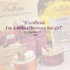 Are you are #SheaMoisture fan?