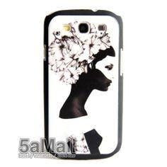 Matte Girl Art Shell Hard Cover Case for Samsung Galaxy S3 s III i9300 BA2038   eBay