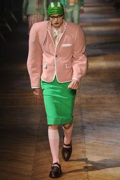 Insane fashion.