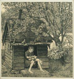 The Doll House, undated,  Nikolai Astrup