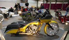 A custom from  Junkyard Customs at Dayton Cyclefest.