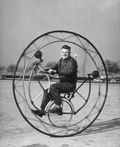 Crazy bike, Chicago, 1948 | Hell on Wheels: LIFE With Mutant Bicycles | LIFE.com (see classic and cutting edge bikes at http://www.msichicago.org/whats-here/exhibits/art-of-the-bicycle/]