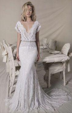 cool 50 Beautiful Lace Wedding Dresses Inspiration Ideas  https://fashioomo.com/2018/04/25/50-beautiful-lace-wedding-dresses-inspiration-ideas/