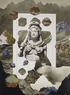 HIDDEN STRUCTURE - Collages, Daria Malicka