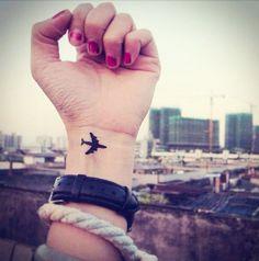 tatuaje avión