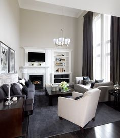 Jane Lockhart Interior Design - contemporary - family room