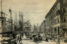 The South Street Seaport Museum was founded in 1967 to give New Yorkers and visitors alike a glimpse into the Seaport's rich past. Description from nyhistorywalks.wordpress.com. I searched for this on bing.com/images